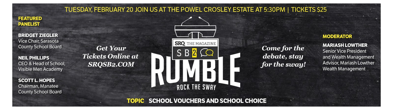 SB2 Rumble Parley: School Choice and School Vouchers