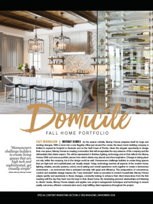 DOMICILE - Fall Home Portfolio
