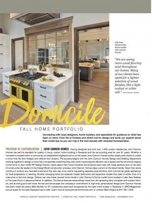 Domicile: The Fall Home Portfolio