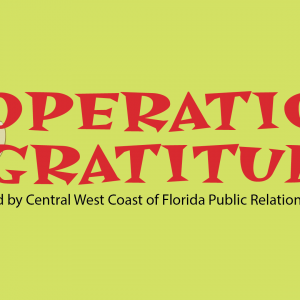 Central West Coast Chapter of the Florida Public Relations Association to Host Special Fundraising Event