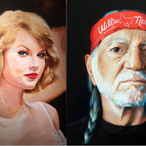 Painted Portraits for the Holidays