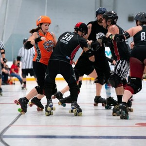 Bradentucky Bombers Roller Derby host Team Florida Double Header