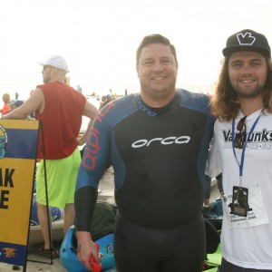 Sarasota Kayak Retailer Provides Open Water Support in Tampa Bay Frogman Swim 5K