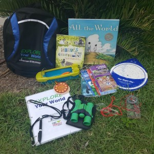 Explore Your World Backpack Kit Available at Sarasota County Libraries