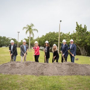 The Bay Park Conservancy Breaks Ground on the Mangrove Bayou Walkway