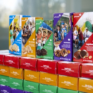 New Cookie Packaging Creates Local Girl Scout Celebrity