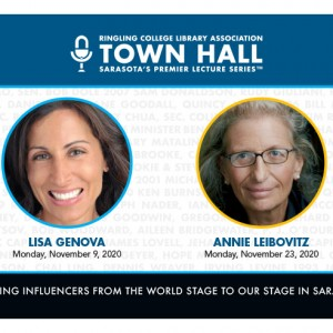 Annie Leibovitz, Lisa Genova  Announced for RCLA Town Hall Lectures to be Held in November 2020