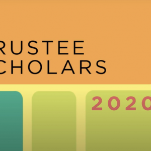 Ringling College of Art and Design is Proud to Announce its 2020-21 Trustee Scholar