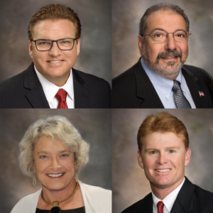 Four Sarasota County Commissioners Earn Presidential Advocate Honors