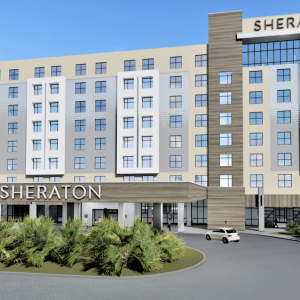 Fishman & Associates Selected to Design the Food and Beverage Areas for New Sheraton Hotel