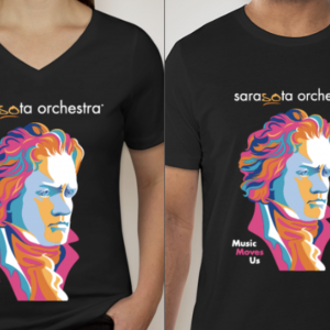 The Inspiration for Sarasota Orchestra's Tropical Beethoven Tee