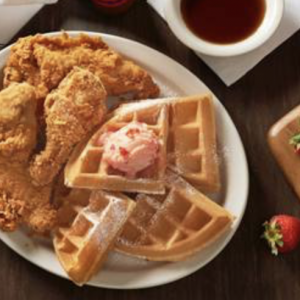Celebrate National Fried Chicken & Waffle Day with Metro Diner