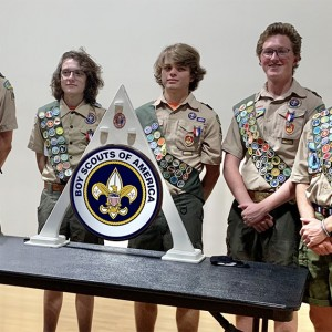 Local Teens Earn Highest Boy Scouts of America Award