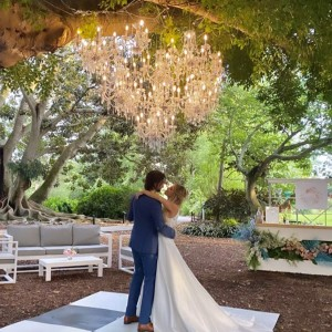 Local Wedding Professionals Team Up for Styled Photo Shoot at Selby Gardens