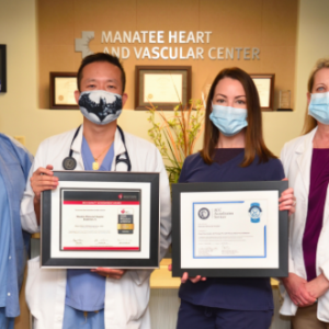 Manatee Memorial Hospital Honored with Gold Quality Achievement Award