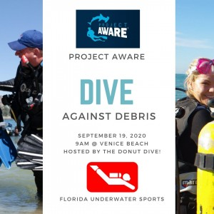 Dive Against Debris with Florida Underwater Sports