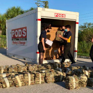 Sarasota Military Academy Partners with PODS to Move and Store Uniforms