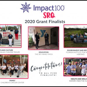 Impact100 SRQ Announces Five Grant Finalists
