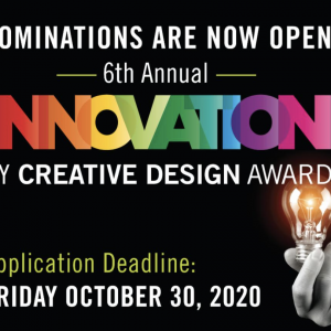 Innovation Creative Design Award Nominations Open