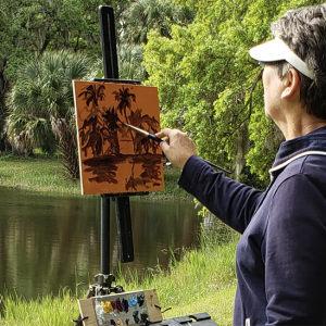Join Friends of Osprey Junction Trailhead for FOJT Plein Air Painter Art Exhibit/Critique
