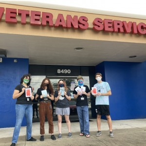Ringling College Students Create Cards for Veterans Served by Goodwill