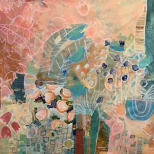 Artist Jill Krasner Imagines Gardens at Art Uptown