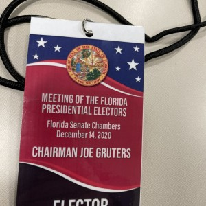 Four GOP Leaders Cast Florida's Electoral College Votes