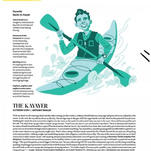 The Outsiders: The Kayaker