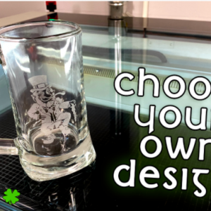 Beer Stein Laser Etching Workshop
