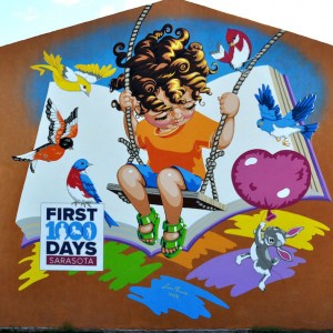 "First 1,000 Days Sarasota County Launches Public Art Campaign ""Color the Community�"