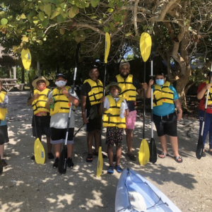 SBEP/Mote Youth Kayak Program Brings Visible Men Academy Out to Sarasota Bay