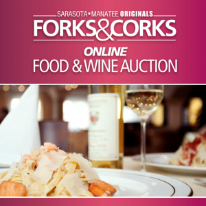 Forks & Corks Online Food and Wine Auction is Open for Bidness