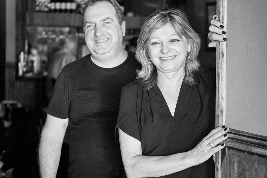 Chef Tamas Benkovics and co-owner Eva Katz. Photo by Evan Sigmund.