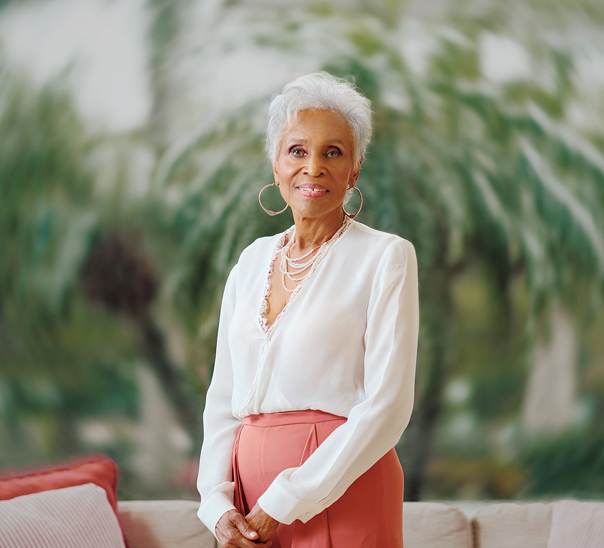Dorothy Butler Gilliam in Sarasota for the Hear Me Roar Luncheon. Photo by Evan Sigmund.