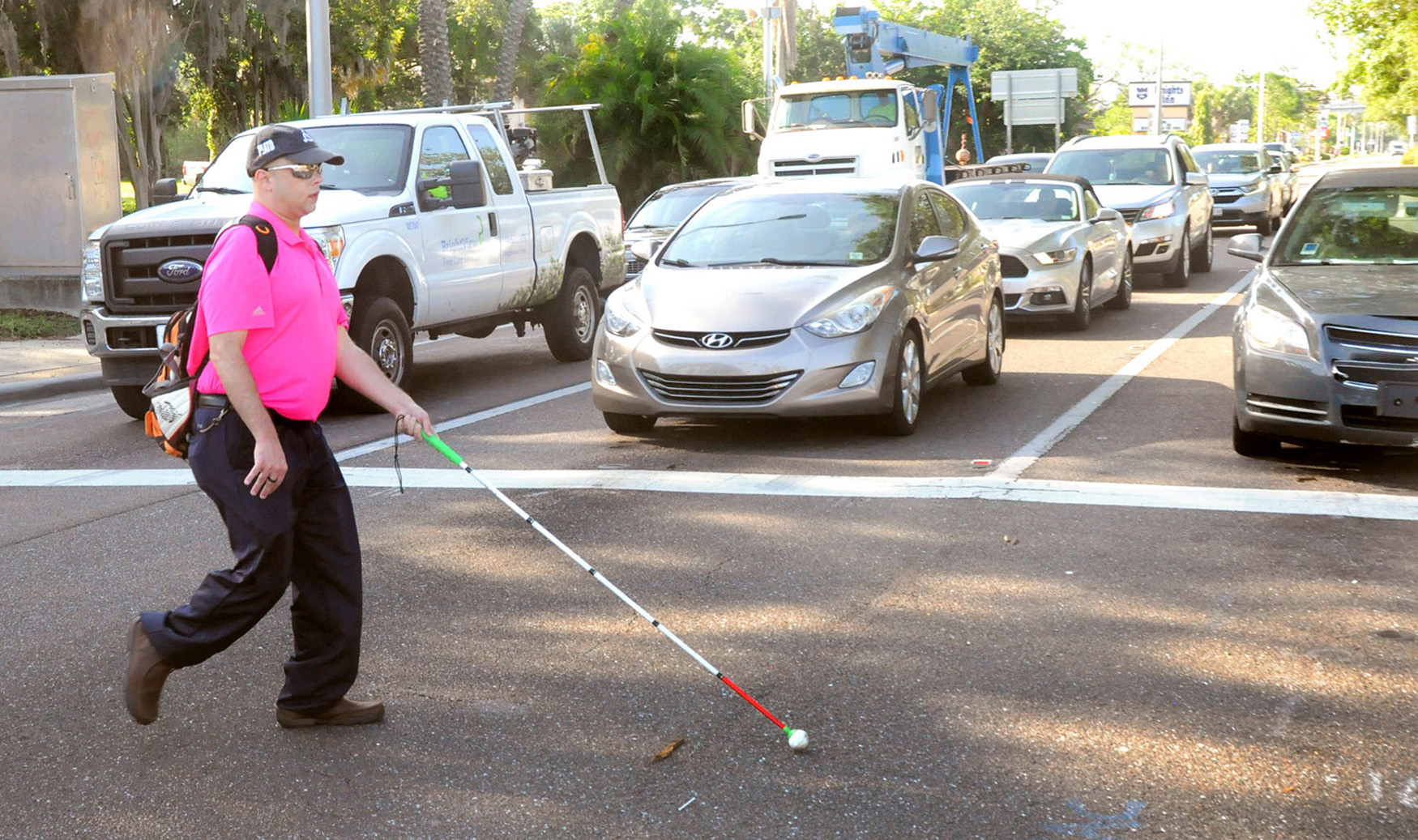October is White Cane Safety Awareness Month worldwide, a reminder to watch for blind or disabled pedestrians.