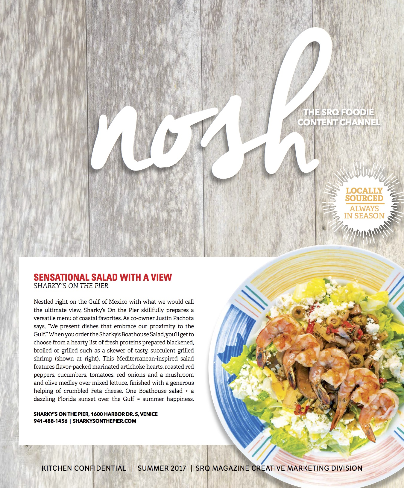 Nosh: Kitchen Confidential