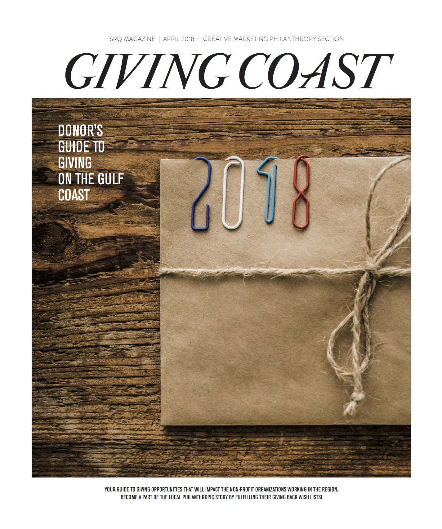 SRQ's Donor's Guide to Giving on The Gulf Coast